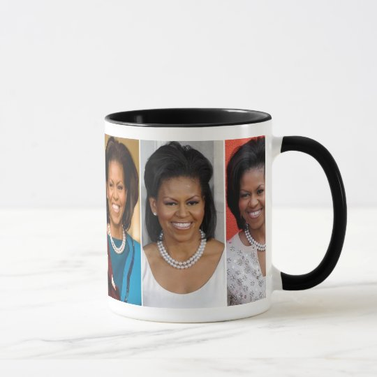 MICHELLE OBAMA COLLECTORS MUG