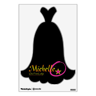 Michelle Obama decal