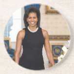 Michelle Obama Drink Coaster