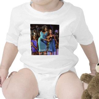 Michelle Obama e hijas Trajes De Bebé