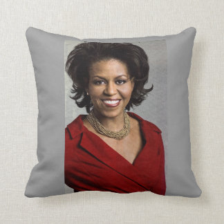 MICHELLE OBAMA, FIRST LADY pillow