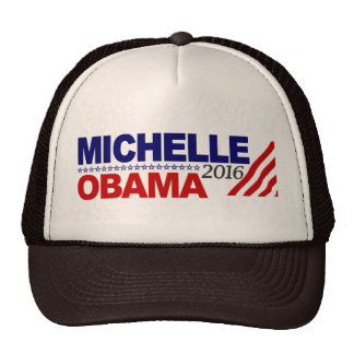 Michelle Obama For President 2016 Mesh Hats