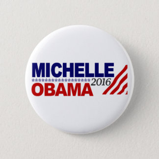 Michelle Obama For President 2016 Pinback Button
