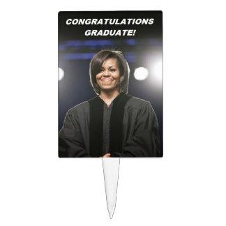 Michelle Obama - Grad Cake Topper -2