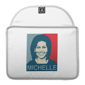 MICHELLE OBAMA HOPE - -.png MacBook Pro Sleeves