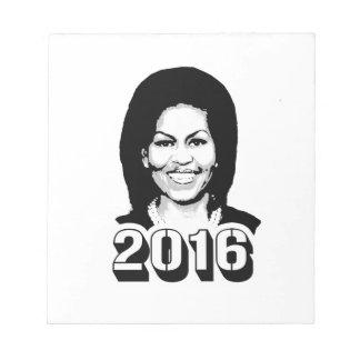 MICHELLE OBAMA IN 2016.png Memo Pad