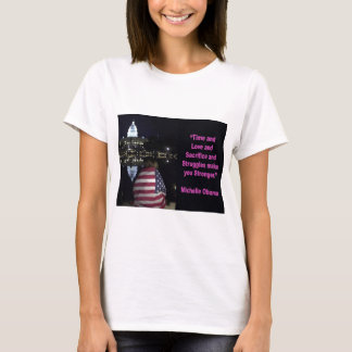 Michelle Obama inspiration quote T-Shirt