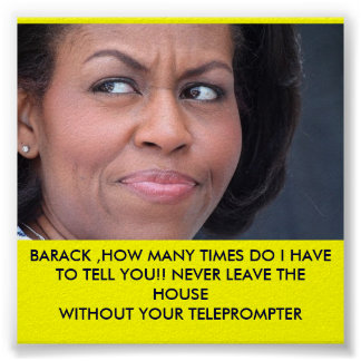 MICHELLE OBAMA IS PISSED!!!! PRINT