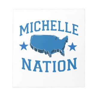 MICHELLE OBAMA NATION.png Memo Note Pads