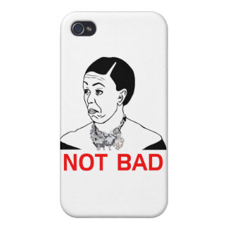 Michelle Obama - Not Bad iPhone 4 Cases