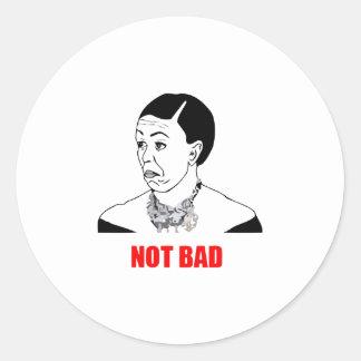 Michelle Obama Not Bad Meme Classic Round Sticker
