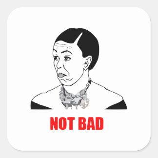 Michelle Obama Not Bad Meme Square Sticker