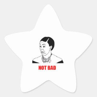Michelle Obama Not Bad Meme Star Sticker