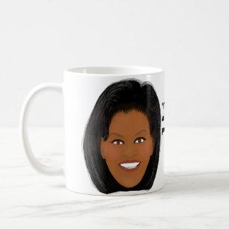 Michelle Obama: Orgulloso de mi país Taza Básica Blanca