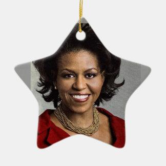 MICHELLE OBAMA ornament