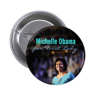 Michelle Obama para primera señora Button Pins