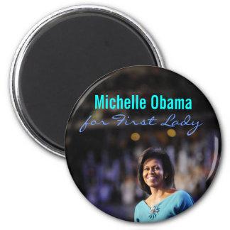 Michelle Obama para primera señora Magnet Imanes