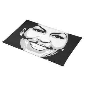 Michelle Obama Pattern Cloth Place Mat