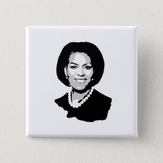 Michelle Obama Pinback Button