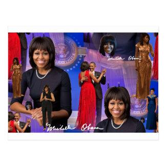 Michelle Obama Postcard