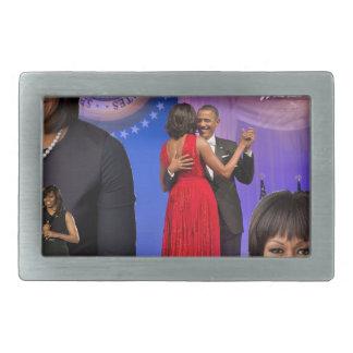 Michelle Obama Rectangular Belt Buckle
