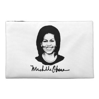 MICHELLE OBAMA SIGNATURE -.png Travel Accessories Bag
