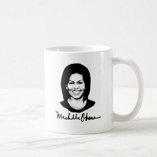 MICHELLE OBAMA SIGNATURE -.png Coffee Mug