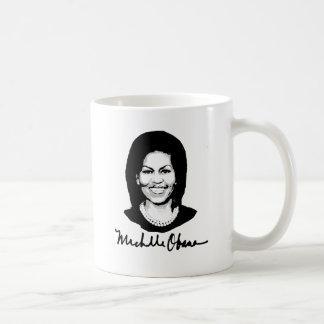 MICHELLE OBAMA SIGNATURE -.png Coffee Mug