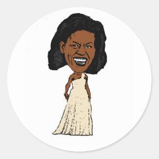 michelle obama stickers