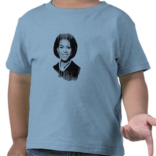 Michelle Obama Vintage.png llano Camiseta