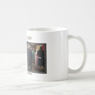 Michelle Obama y la taza de la reina