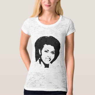Michelle Obama's beautiful Face T-Shirt