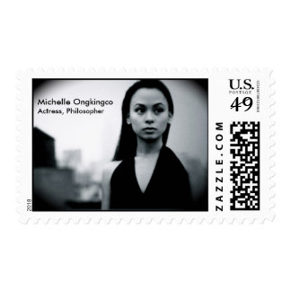 Michelle Ongkingco, actress/philosopher Stamp