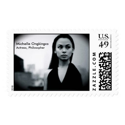 Michelle Ongkingco, actress/philosopher Postage