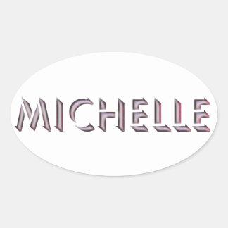 Michelle sticker name