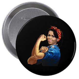 MICHELLE THE RIVETER PIN