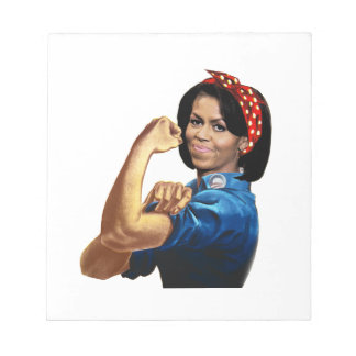 MICHELLE THE RIVETER NOTEPADS