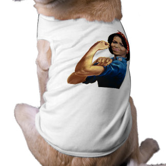 MICHELLE THE RIVETER PET TEE