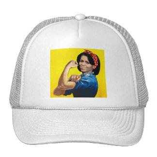 MICHELLE THE RIVETER.png Trucker Hat