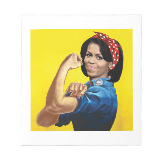 MICHELLE THE RIVETER -.png Note Pads