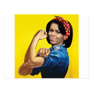 MICHELLE THE RIVETER -.png Postcard