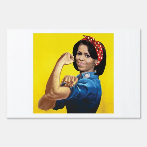 MICHELLE THE RIVETER -.png Sign