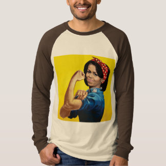 MICHELLE THE RIVETER -.png Tee Shirts