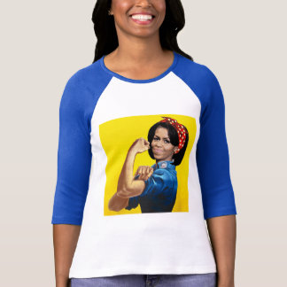 MICHELLE THE RIVETER T-Shirt