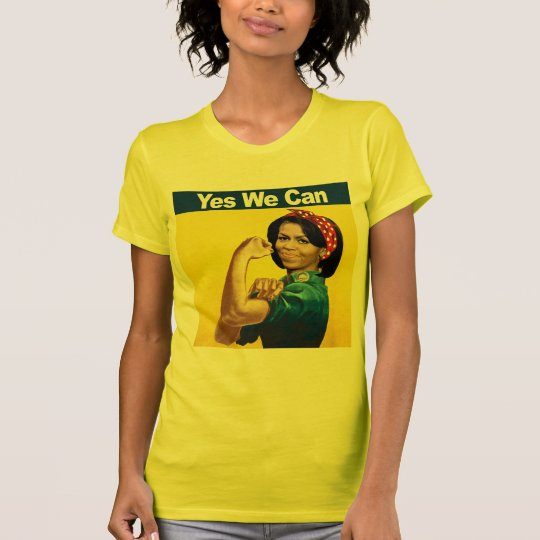Michelle the Riveter - Yes we can.png T-Shirt