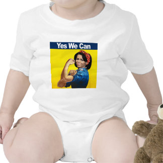 Michelle the Riveter - Yes we can.png T-shirts