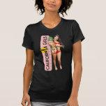 Michelle Tomniczak: Camiseta menuda de las señoras