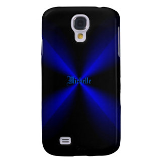 Michelle's Black and Blue Samsung Galaxy s4 case