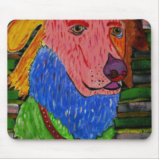 Michelle's Doggy Pad Mouse Pad