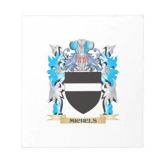 Michels Coat of Arms - Family Crest Memo Notepads